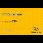 € 30 JET Gutschein