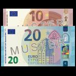 € 30 Verrechnungsscheck