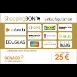 25 Euro ShoppingBON