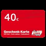 € 40 LOUIS-Gutschein