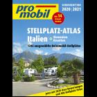 Promobil Reisemobil Stellplatz-Atlas Italien 2020/2021