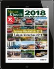 MOTOR KLASSIK / Das Klassik Jahr 2018 Download