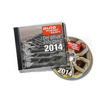 AUTO MOTOR UND SPORT Jahrgangs CD 2014