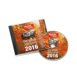 AUTO MOTOR UND SPORT Jahrgangs CD 2016