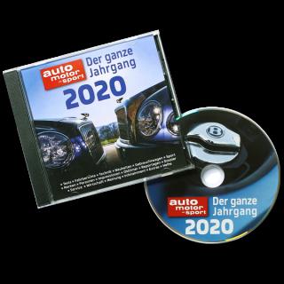 AUTO MOTOR UND SPORT Jahrgangs CD 2020