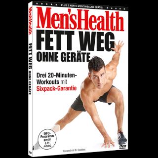 DVD Men's Health - Fett weg ohne Geräte