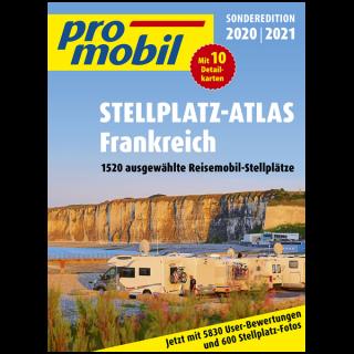 Promobil Reisemobil Stellplatz-Atlas Frankreich 2020/2021