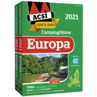 ACSI Campingführer Europa 2021
