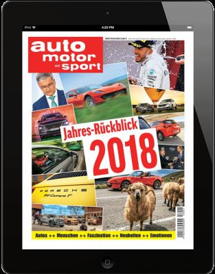 AUTO MOTOR UND SPORT Jahres-Rückblick 2018  Download