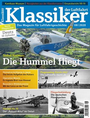 KLASSIKER DER LUFTFAHRT 8/2020