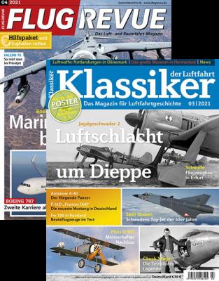 KLASSIKER DER LUFTFAHRT + FLUG REVUE