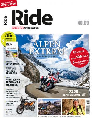 MOTORRAD RIDE 9/2021 Alpen Extrem