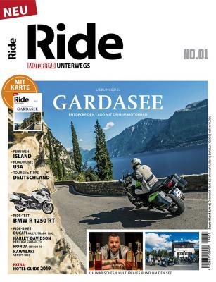 MOTORRAD RIDE 1/2019 Gardasee