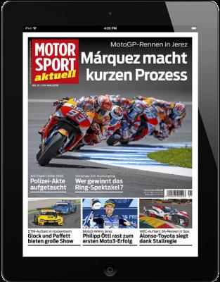 MOTORSPORT AKTUELL 21/2018 Download