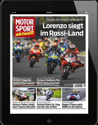 MOTORSPORT AKTUELL 25/2018 Download
