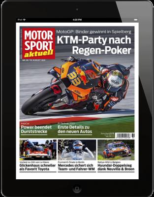 MOTORSPORT AKTUELL 36/2021 Download