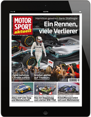 MOTORSPORT AKTUELL 42/2018 Download