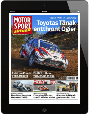 MOTORSPORT AKTUELL 46/2019 Download