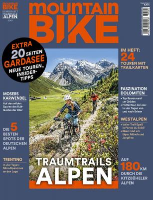 MOUNTAINBIKE Traumtrails Alpen 2/2019