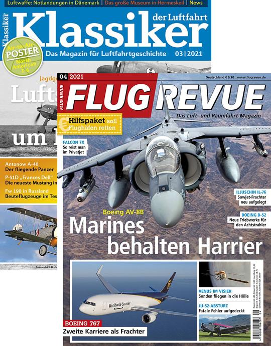 FLUG REVUE + KLASSIKER DER LUFTFAHRT