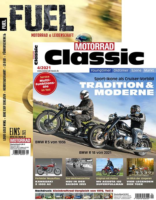 MOTORRAD CLASSIC + FUEL