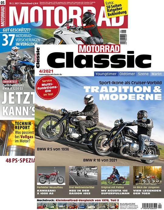 MOTORRAD CLASSIC + MOTORRAD
