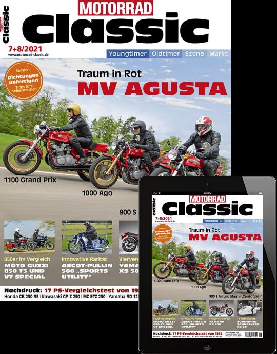 MOTORRAD CLASSIC Kombi-Abo